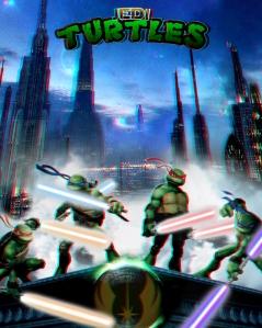 Jedi Turtles - 3D