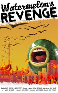 Watermelon's Revenge - B Movie Poster