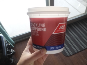light weight spackle - AJ Designs